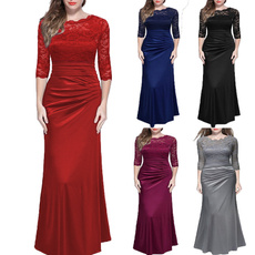 women dress, Encaje, Cocktail, Cocktail Party Dress
