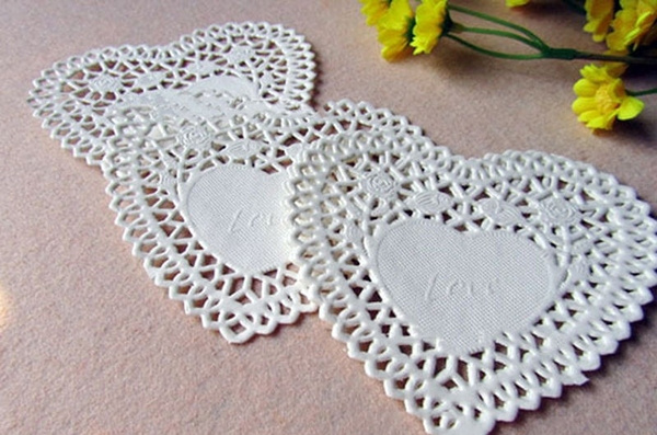 foodpaper, Lace, lacehollowout, easytoclean
