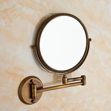 washroom, Makeup Mirrors, swivel, wallmounted