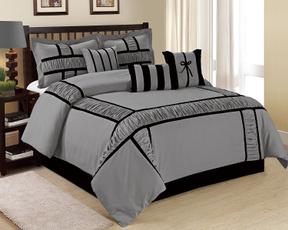 King, bedspreadset, duvet, comforternavy