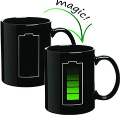batterychargingdesigncup, magiccoffeemug, Coffee, Magic