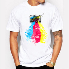 short sleeves, Summer, Printed T Shirts, Sleeve