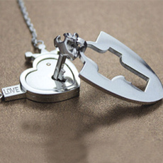 Steel, Heart, titanium steel, Stainless Steel