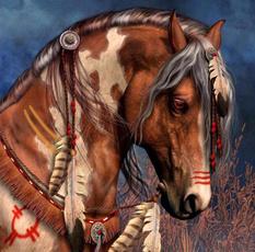 horse, decorresincraft, Home Decor, Embroidery