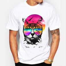 Fashion, Shirt, Casual T-Shirt, Animal