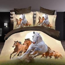 horse, Fashion, Bedding, Cover