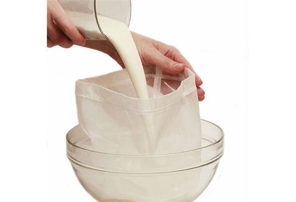 Nut Milk Bag Reusable Almond Milk Bags Nylon Mesh Food Strainer Cheese IC