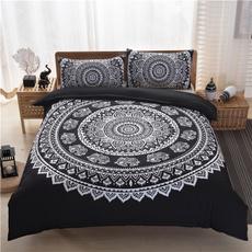 bohemiannationalwindbedding, decorativepillowcase, quiltcover, Bedding