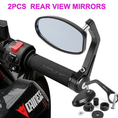 motorcycleaccessorie, sidemirror, sideviewmirror, Aluminum