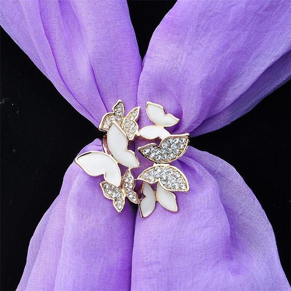 butterfly, Flowers, Jewelry, fashionbrooche