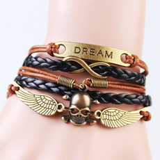 infinity bracelet, Charm Bracelet, Fashion, Wristbands