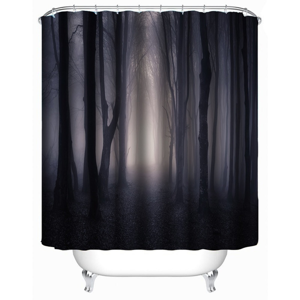waterproofshowercurtain, Polyester, Bathroom Accessories, fashionshowercurtain