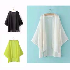 blouse, Fashion, chiffon, beach coverup