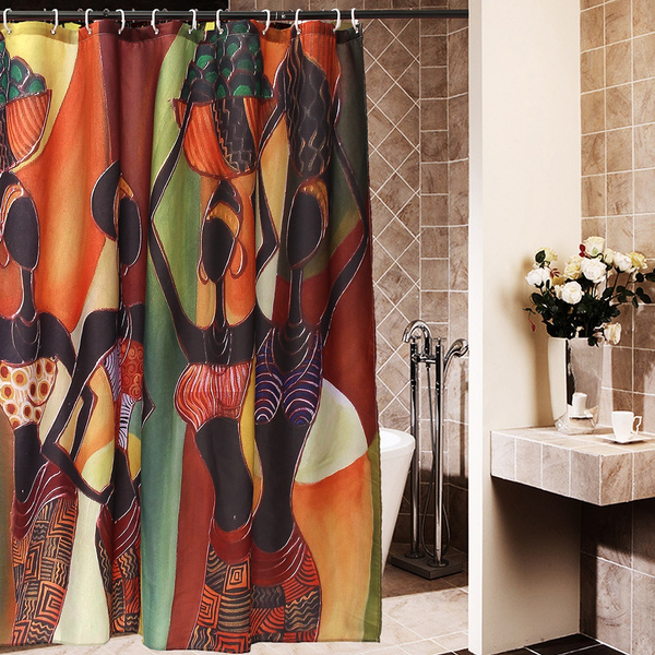 bathroomgadget, Bathroom, Fiber, roomdividercurtain