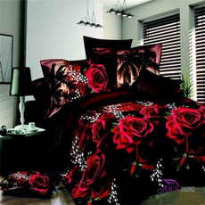 comforterbeddingset, Flowers, bedclothe, Home & Living