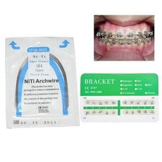 orthodonticappliance, Mini, nitinolarchwire, Elastic