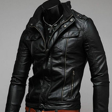 Fashion, leatherjacketman, leather, Coat
