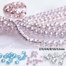 pink, Clothing & Accessories, beadsforbracelet, crystalbead