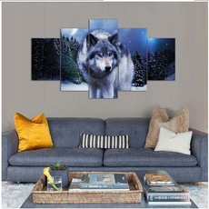 Decor, Wall Art, Winter, canvaspainting