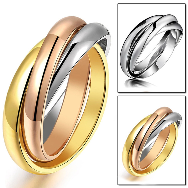 Steel, goldplated, Fashion, Stainless Steel