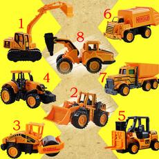 Mini, bulldozer, Toy, Truck