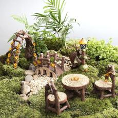 Bonsai, statuesfigure, Outdoor, Garden