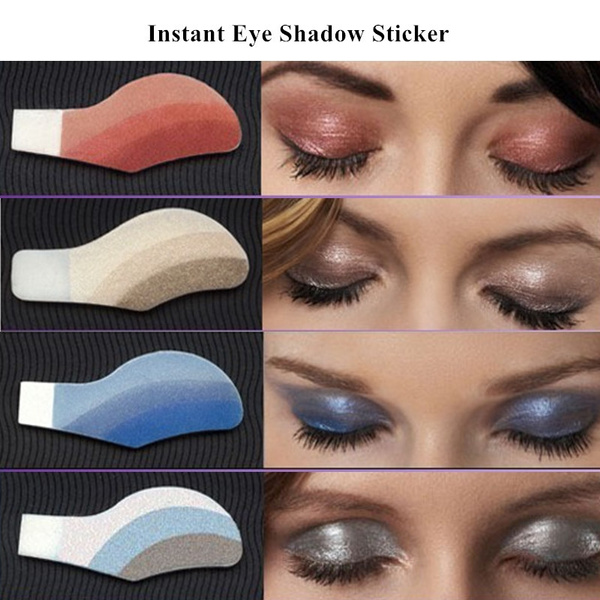 6 Pairs Box Instant Eye Shadow Stickers