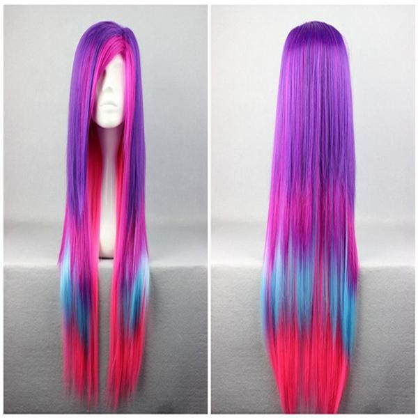 wig, Fashion, multiplecolor, hair