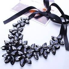 Flowers, Jewelry, Choker, necklace charm