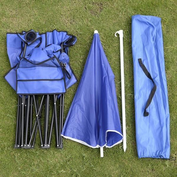 Blues, foldablechair, Fashion, Umbrella
