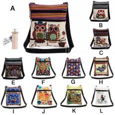 Shoulder Bags, embroiderybag, fashion bags for women, postmanbag