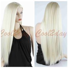 wig, Cosplay, wigshairnet, longstraightwig