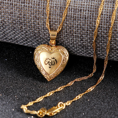 goldplated, Heart, Jewelry, islamicjewelry