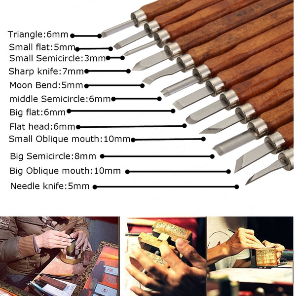 Steel, Wood, carvingknife, Wooden