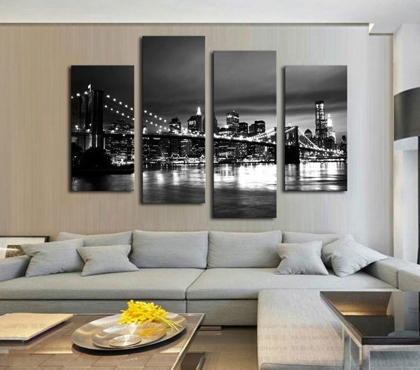 livingroomwallpainting, Pictures, Decor, Modern