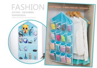 Underwear, Hangers, Door, Closet