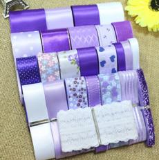 Beautiful, Christmas, purpleribbon, purple