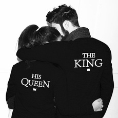 Couple Hoodies, blouse, Fashion, letter print