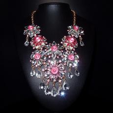 pink, Tassels, Flowers, Romantic