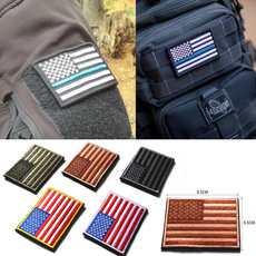 american flag, shoulderbadge, embroidered, flagpatch