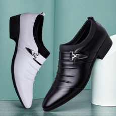 dress shoes, formalshoe, leather, Buckles
