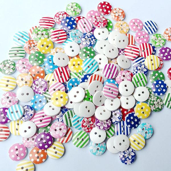 sewingbutton, Flowers, Scrapbooking, cute