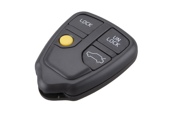 SEGADEN Replacement Key Shell Compatible with VOLVO 2 Button Keyless Entry Remote Key Case Fob PG784