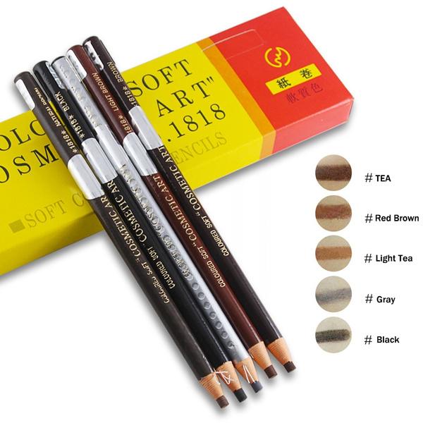pencil, Coffee, eye, Beauty