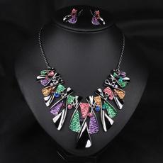 Fashion, Jewelry, enamel, Stud Earring