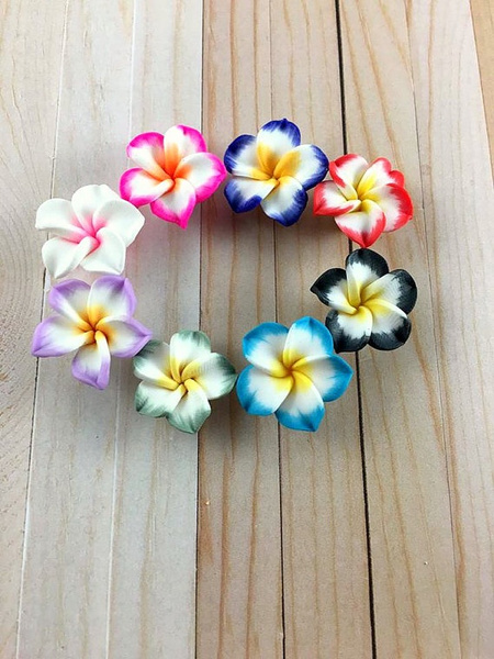 polymerclayflower, Flowers, Jewelry, polymer
