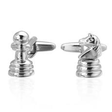 Men Jewelry, cufflinks designer, Stainless Steel, Chess