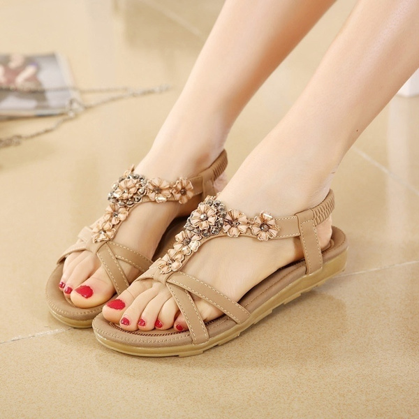 Flat Shoes Sandalias Mujer Ladies Shoes
