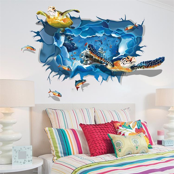 Blues, Turtle, turtlesticker, art