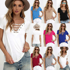 Plus Size, Tops & Blouses, Necks, Sleeve